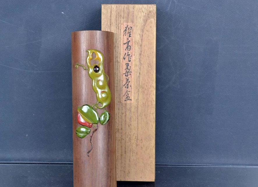 「【前茶道具】茶合 高盛蒔絵」15,000円!