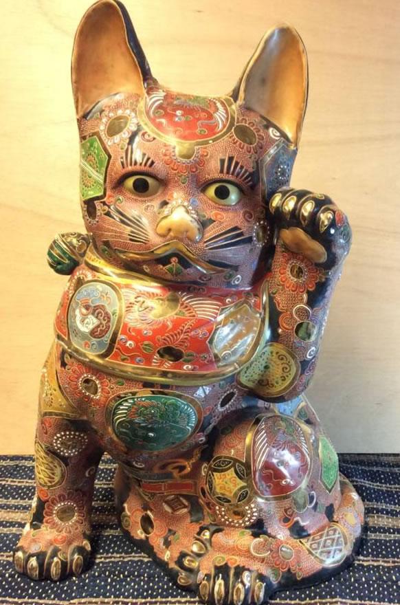 「【九谷焼】招き猫 縁起物」220,000円!