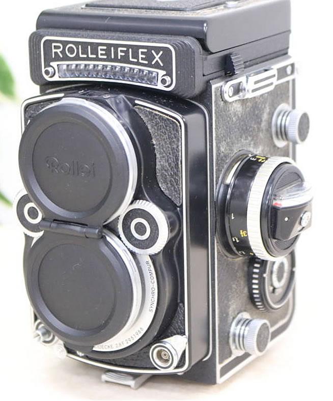 「【ローライフレックス】二眼カメラ」182,000円!