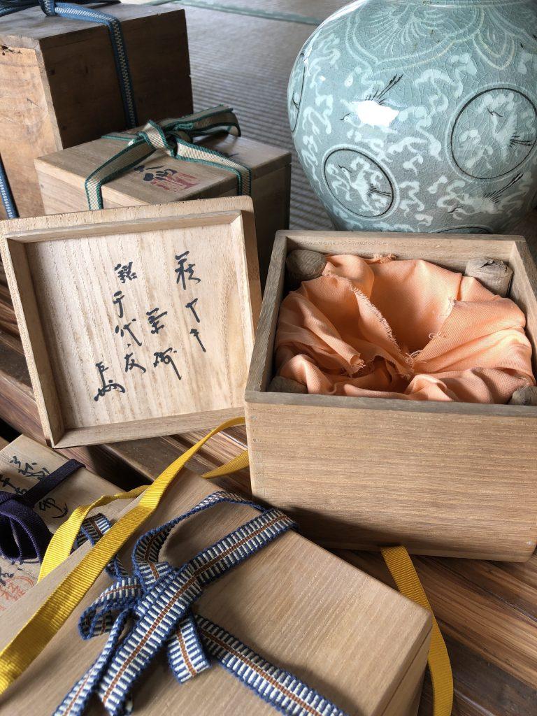 【鹿児島県南九州市】茶道具一式のお買取りをいたしました。