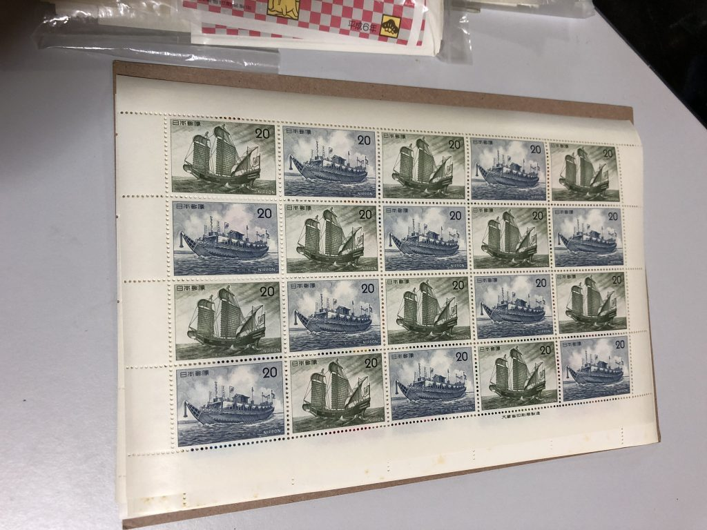 【青森県青森市】切手シートのお買取りをいたしました。