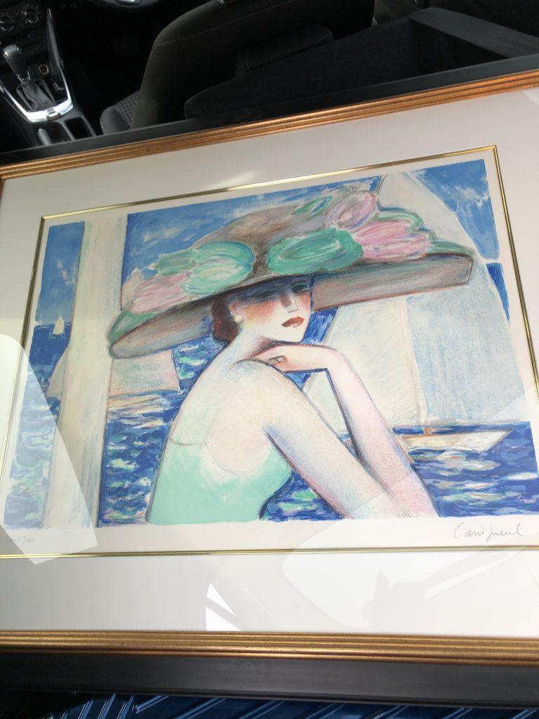 【群馬県高崎市】絵画(カシニョール)のお買取りをいたしました。